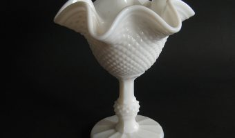Millk Glass Bowl https://en.wikipedia.org/wiki/Milk_glass#/media/File:Bowl_milk_glass.jpg