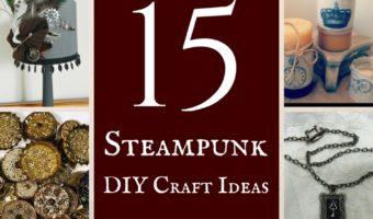 15 Steampunk DIY Craft Ideas