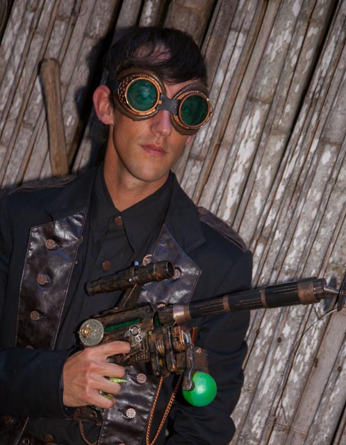 Steampunk men's costume