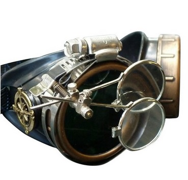Steampunk Goggles Extraordinaire
