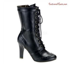 TESLA-102, 10 Gear Eyelet Calf Boots