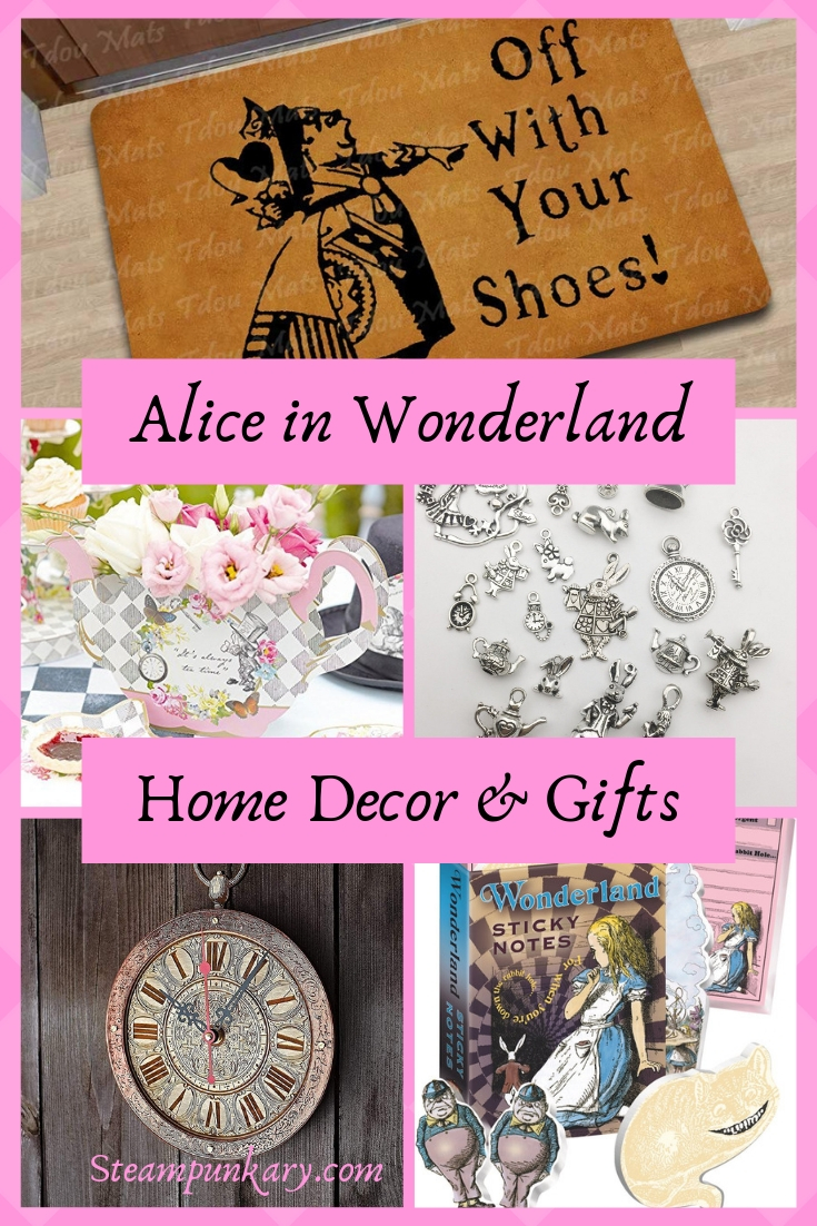 Alice in Wonderland Home Decor and Gifts