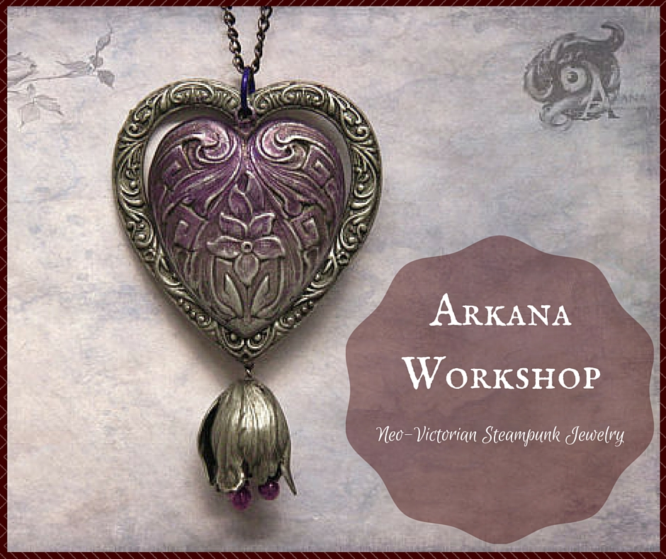 Arkana Workshop Neo-Victorian Steampunk Jewelry