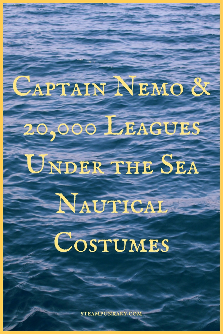 Captain Nemo - 20,000 Leagues Under the Sea Nautical Costumes