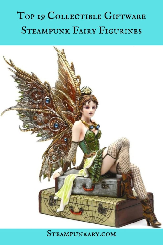 Collectible Giftware Steampunk Fairy Figurines