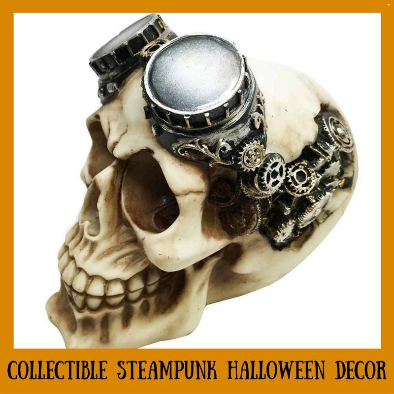 Collectible Steampunk Halloween Decor
