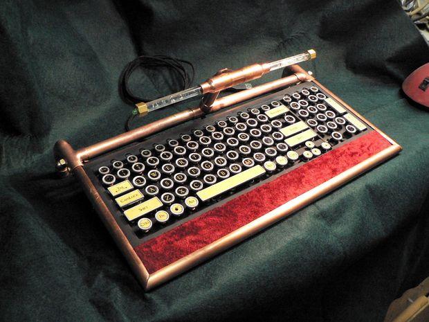 DIY Steampunk Keyboard