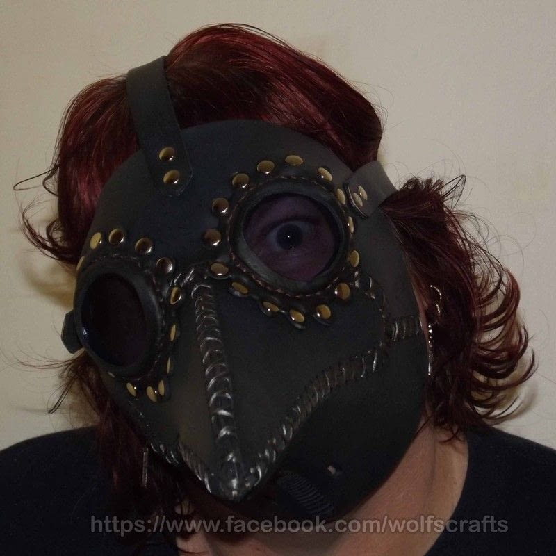 DIY Steampunk Plague Doctor Mask