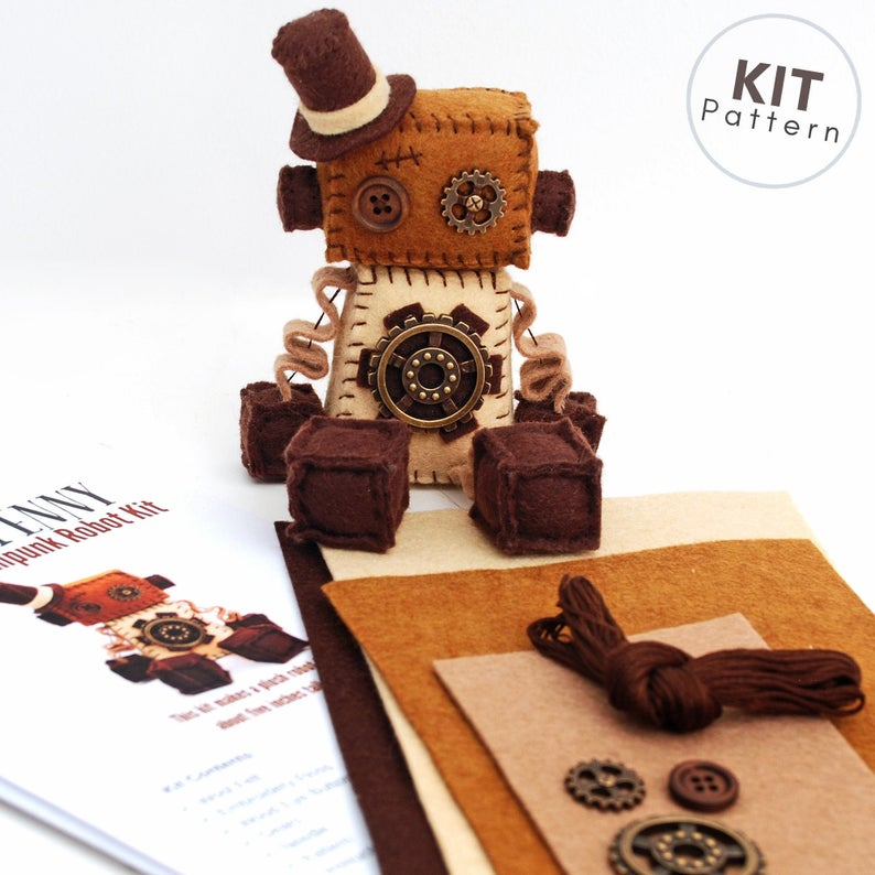 DIY Steampunk Craft Kits to Make at Home - Crafting Gift Guide