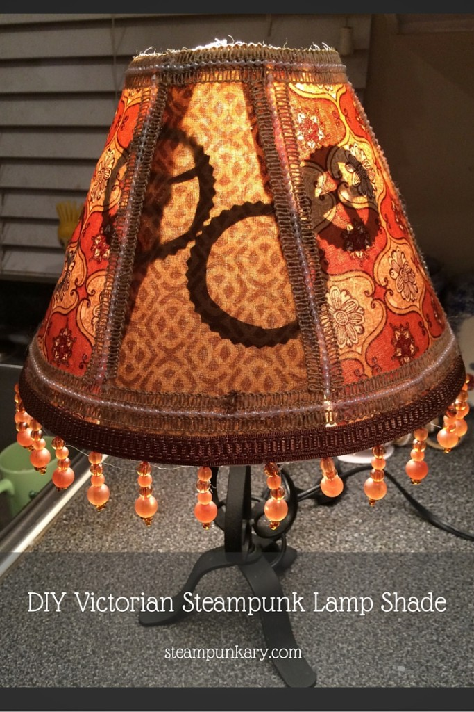 DIY Victorian Steampunk Lamp Shade
