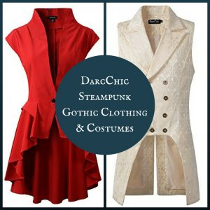 DarcChic Steampunk Gothic Clothing and Costumes for Men and Women