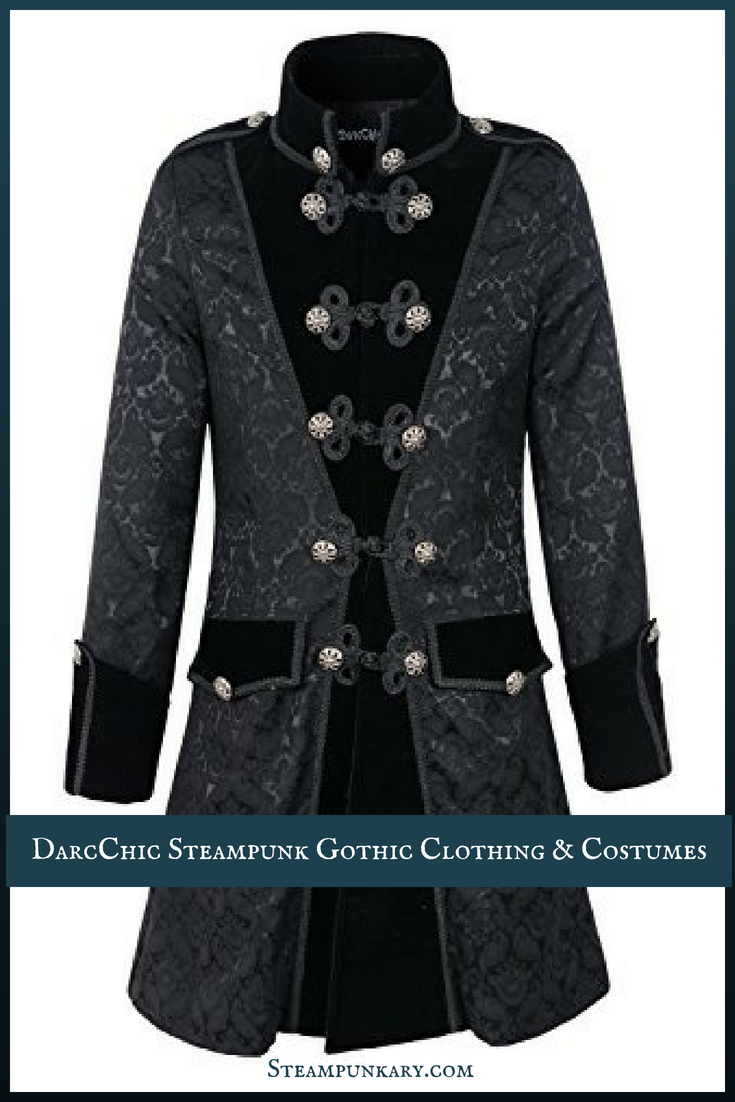 DarcChic Steampunk Gothic Clothing & Costumes for Men and Women