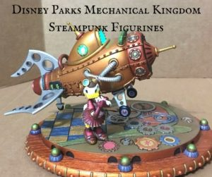 Disney Parks Mechanical Kingdom Steampunk Figurines