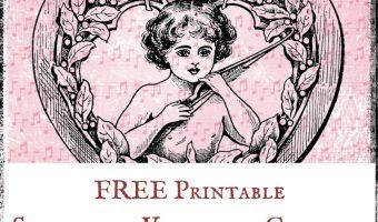 FREE Printable Steampunk Valentine Graphics