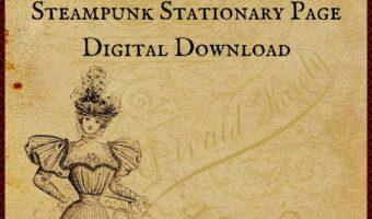 Free Printable Stationary Page