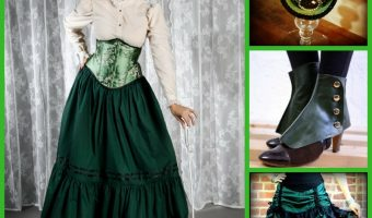 Green Steampunk Costumes for St. Patrick's Day
