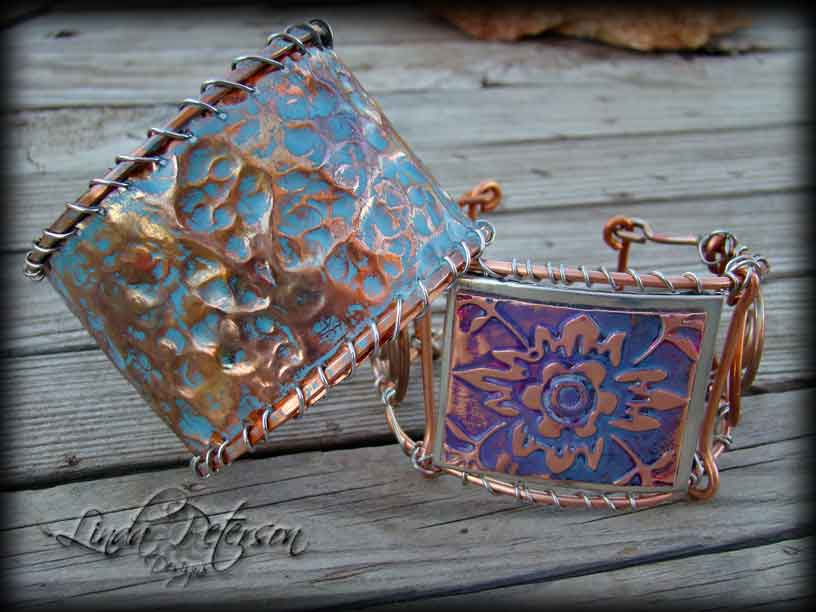DIY Hammered Copper Cuff Bracelet