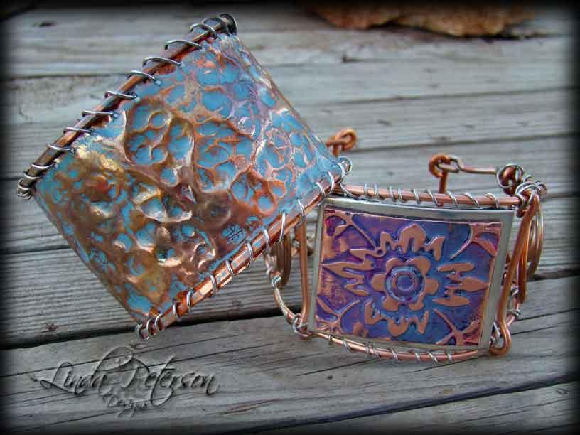 DIY Hammered Copper Cuff Bracelet