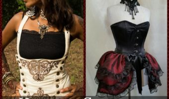 Handmade Corsets for Steampunk Cosplay
