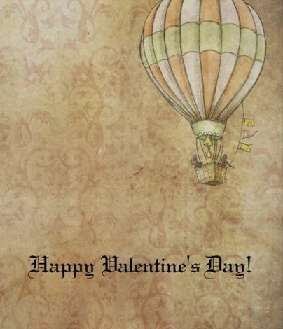 Personalized Steampunk Valentine Cards