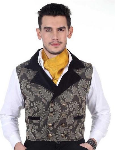 Steampunk Victorian Costume Hidalgo Vest