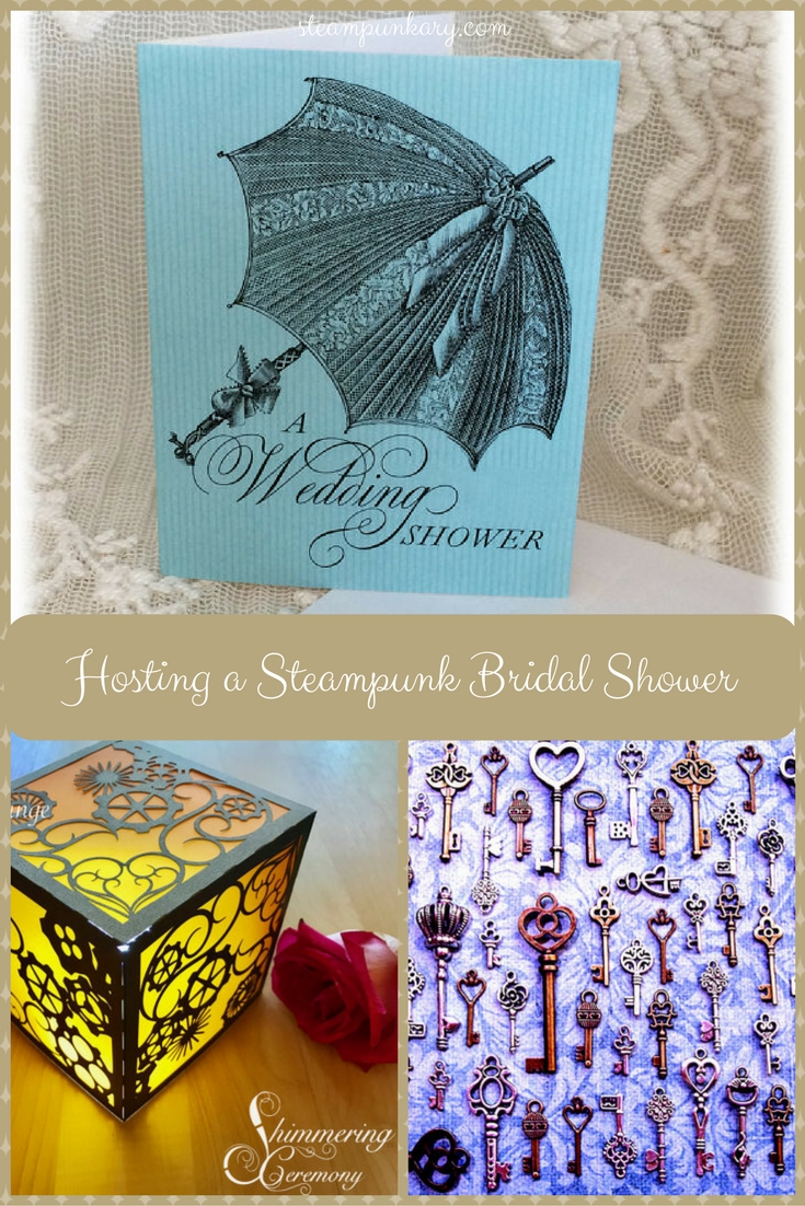 Hosting a Steampunk Bridal Shower
