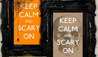 Printable Halloween Signs, Apothecary Labels, Party Kits and Favor Bags