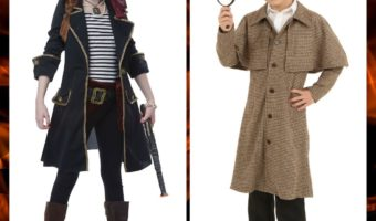 Kids' Steampunk Costumes for Purim