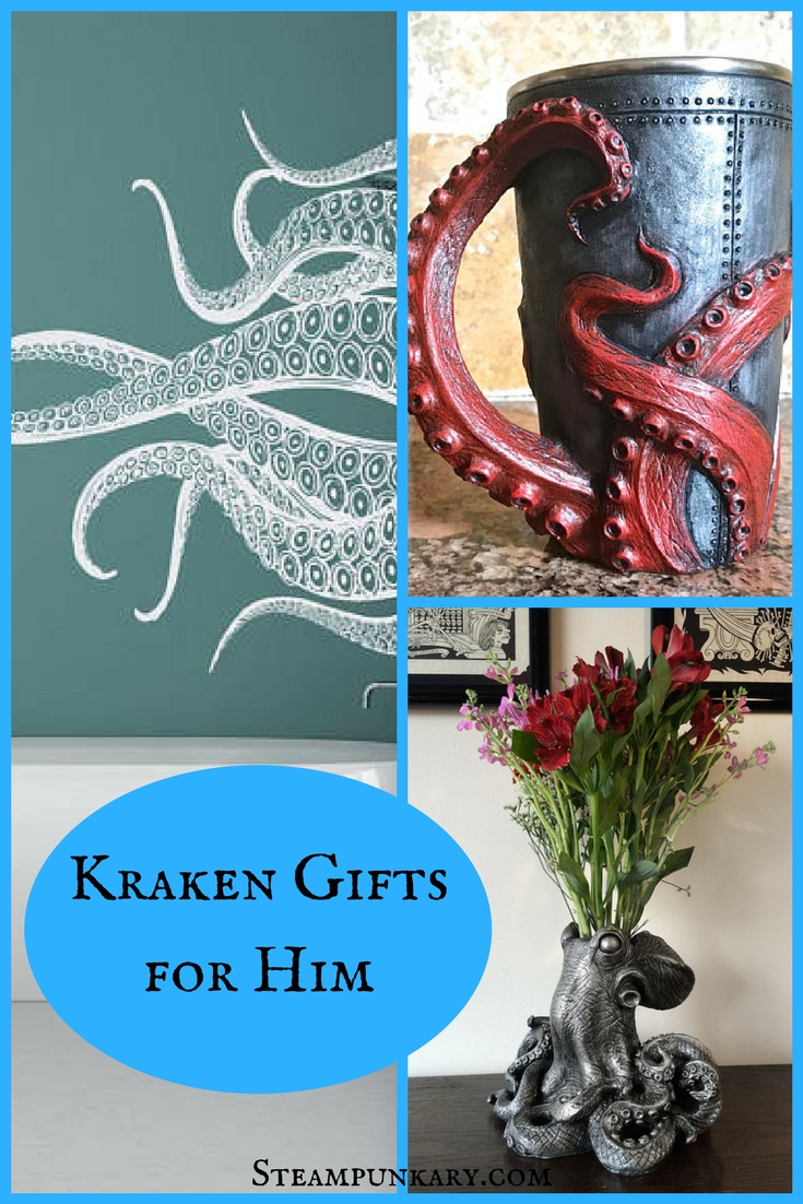 Kraken Gifts for Him