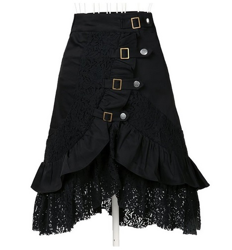 Women's Steampunk Gothic Skirt