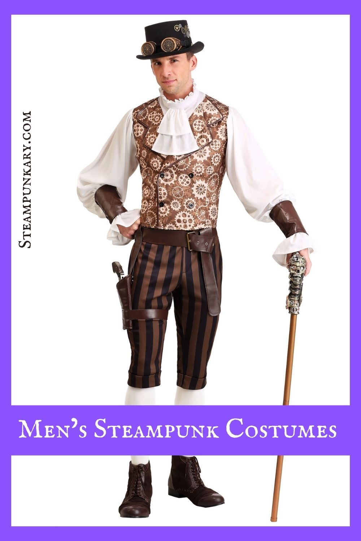 Men's Steampunk Costumes from HalloweenCostumes.com