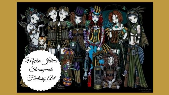 Myka Jelina Steampunk Fantasy Art
