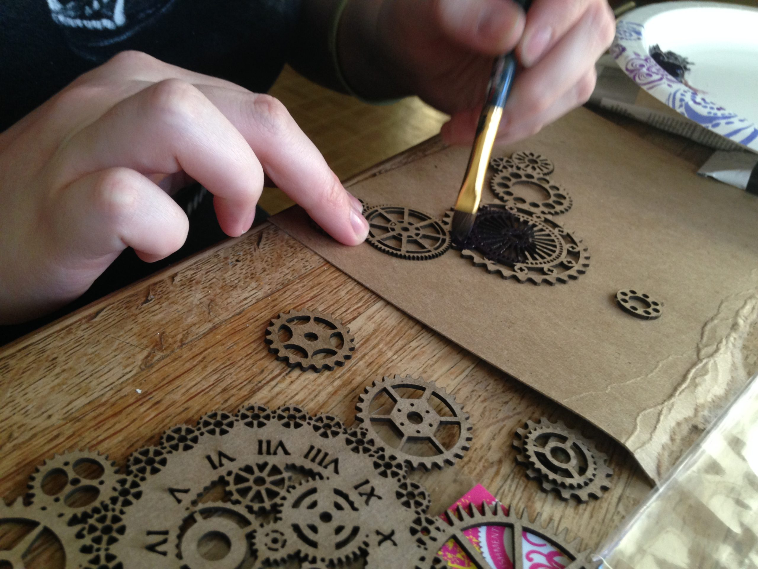 Painting the Gears