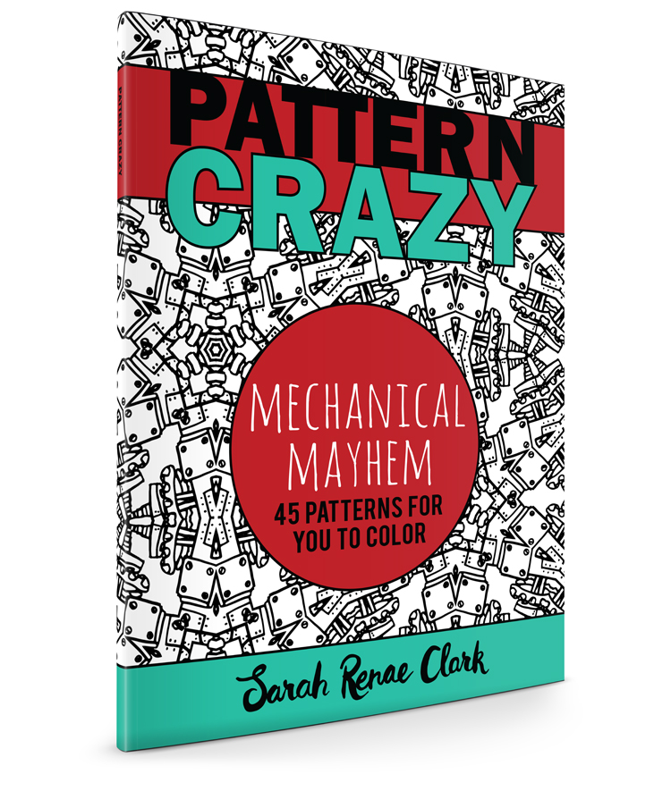 Pattern Crazy Coloring Book