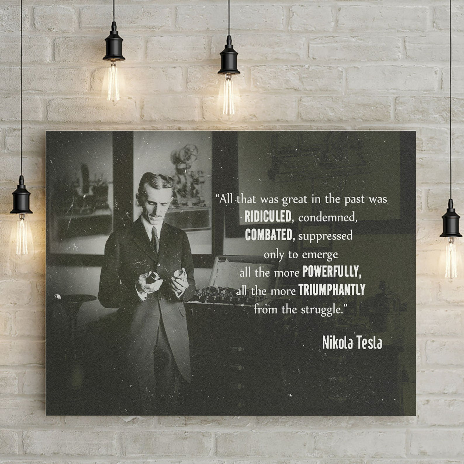 Nikola Tesla Books, Movies, Gifts and Decor (and a Brief History)