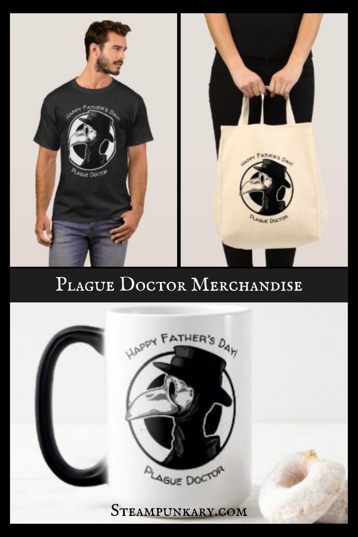Plague Doctor Merchandise on Amazon and Zazzle