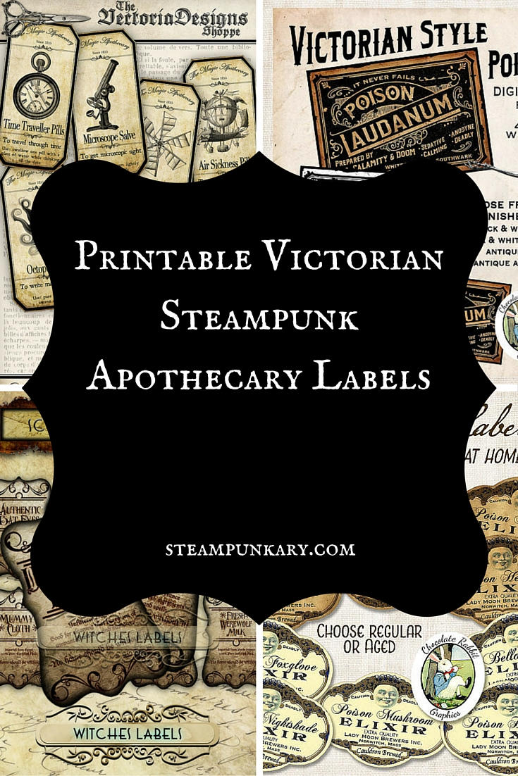 halloween potion bottle apothecary label