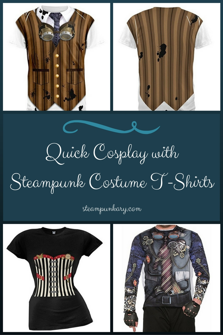 Quick Cosplay with Steampunk Costume T Shirts