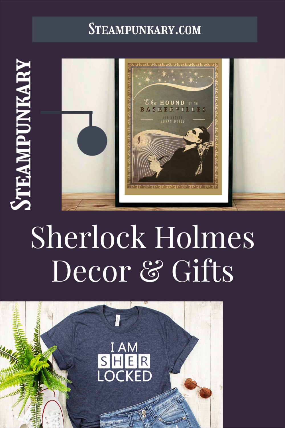 Sherlock Holmes Detective Home Decor and Gifts