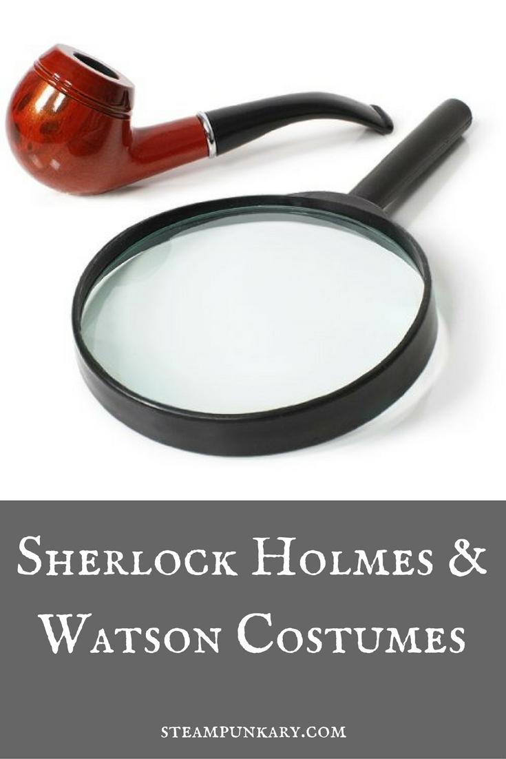 Sherlock Holmes and Watson Costumes