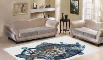 Steampunk Area Rugs
