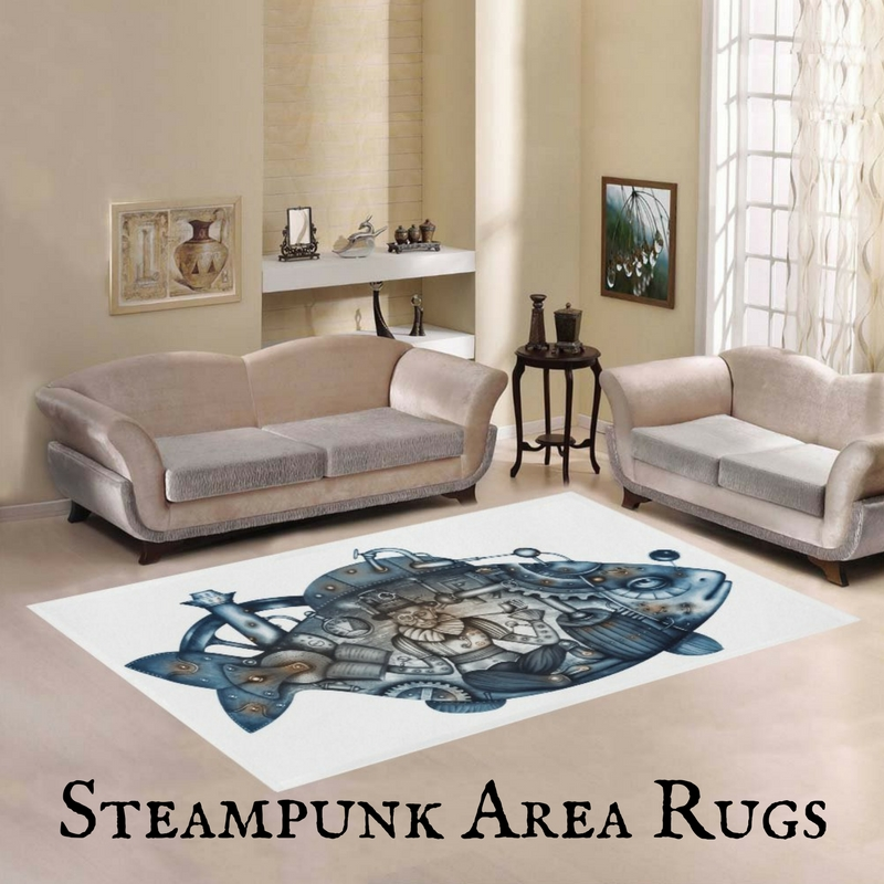 Steampunk Area Rugs For Home Or Office