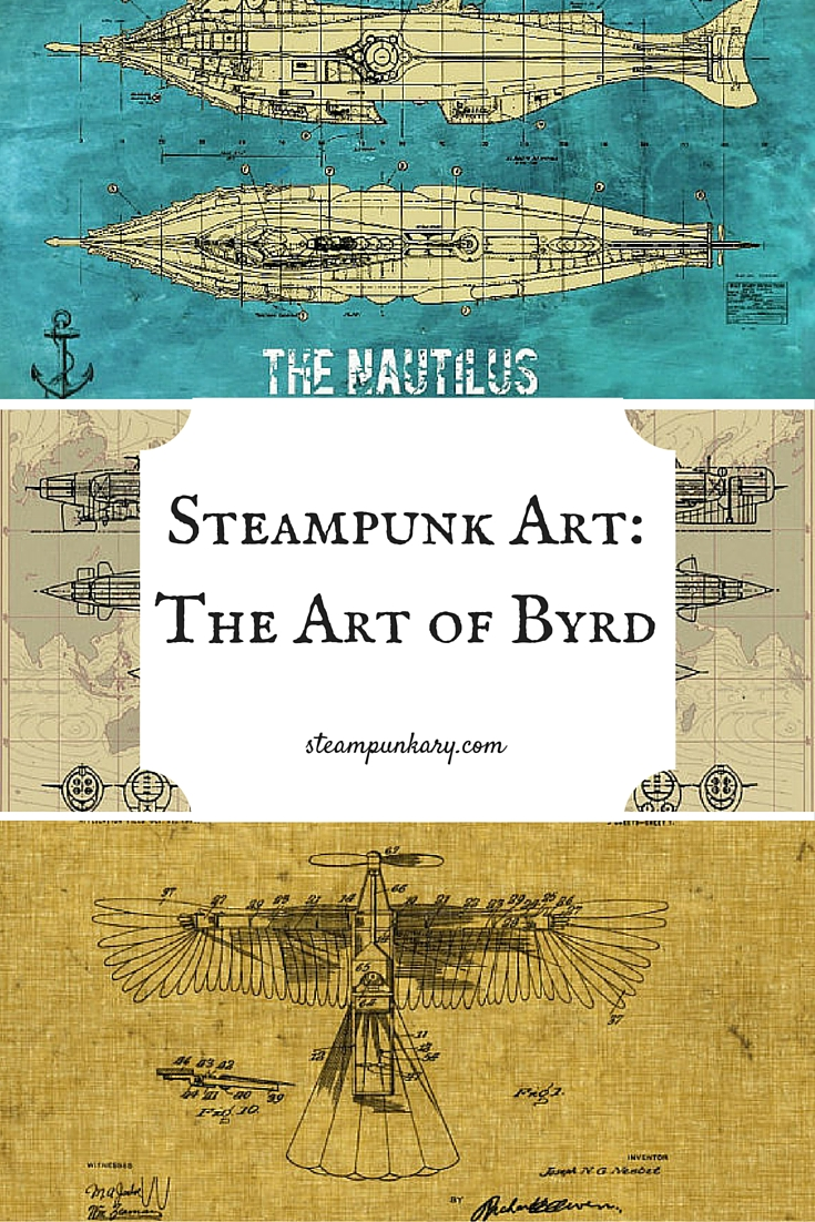 Steampunk Art-The Art of Byrd