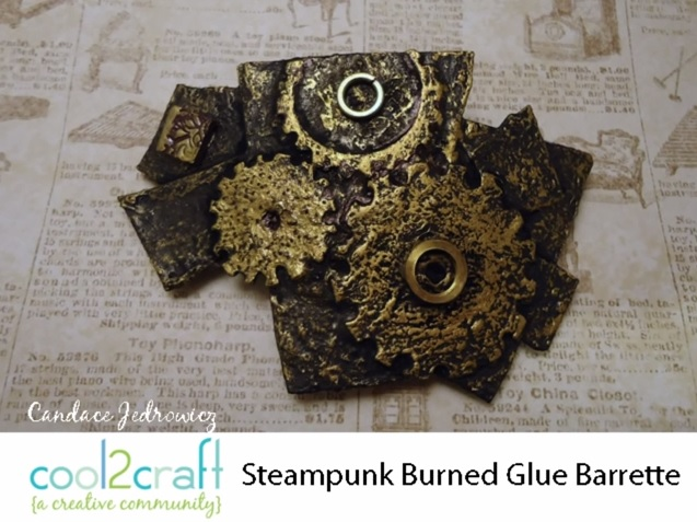 Steampunk Burned Glue Barrett