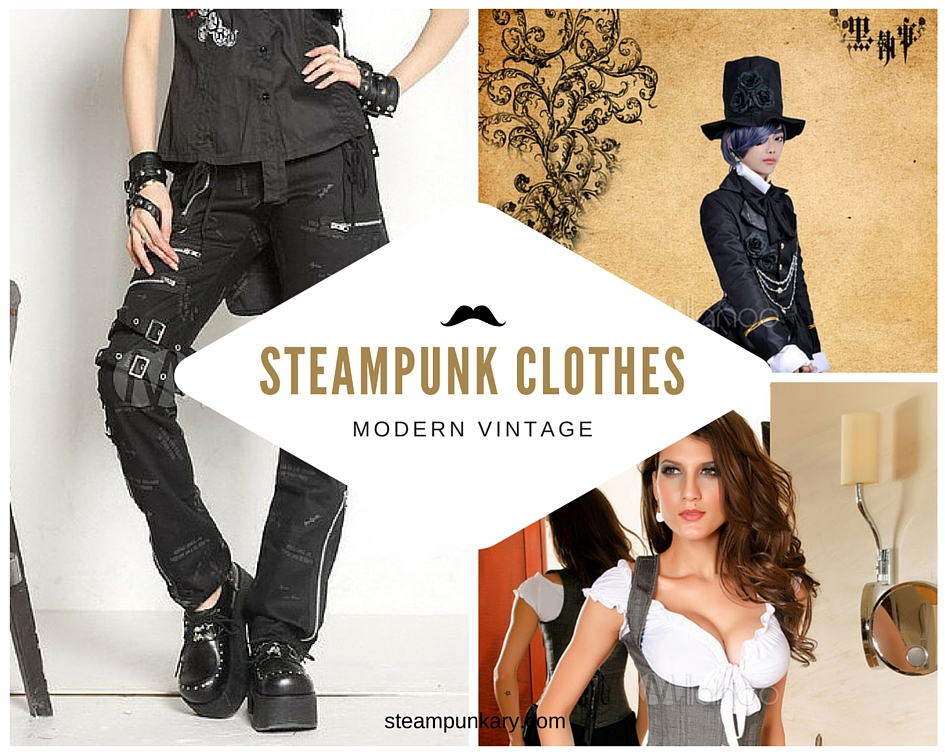 Steampunk Clothes Clothing Corsets Jackets Dresses Accessories