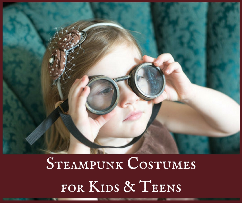 Steampunk Costumes for Kids & Teens