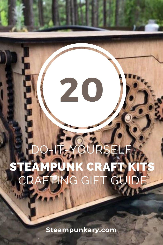 DIY Steampunk Craft Kits to Make at Home - Crafting Gift Guide