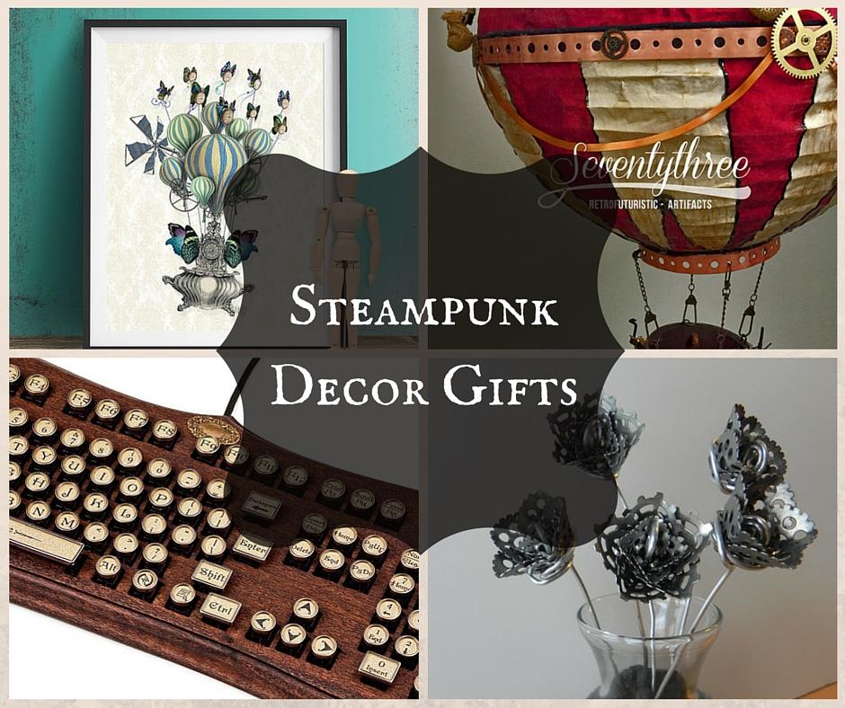 Steampunk Decor Gifts