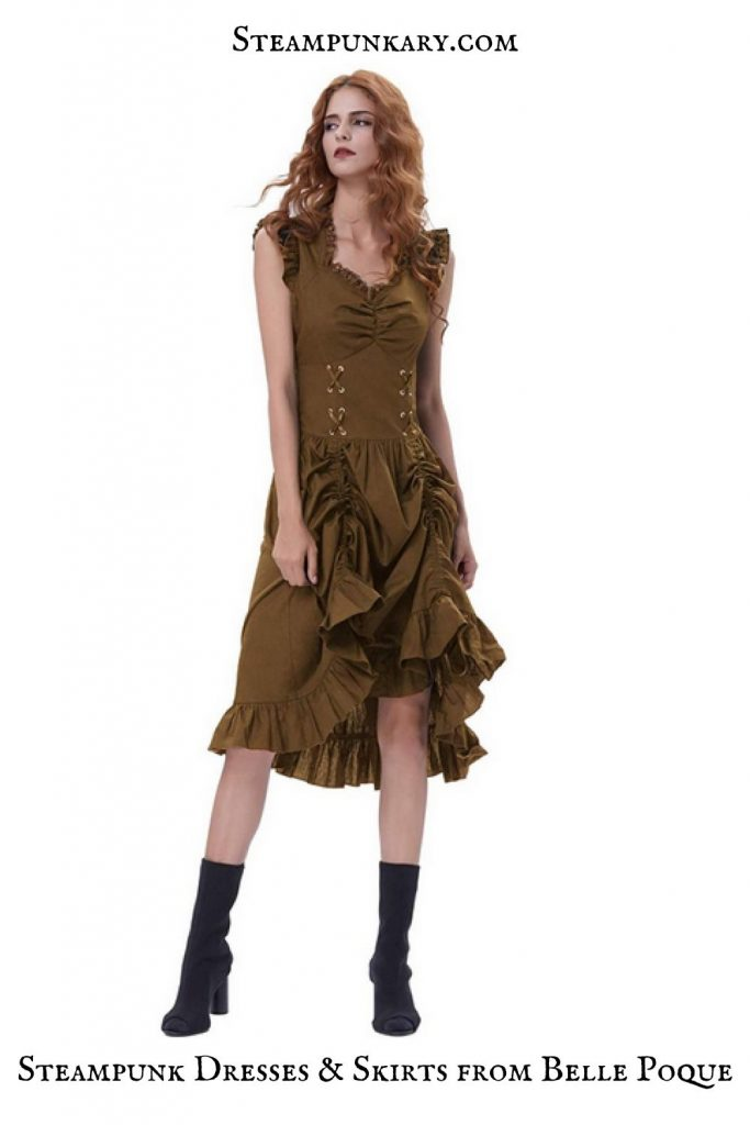 Steampunk Dresses and Skirts from Belle Poque