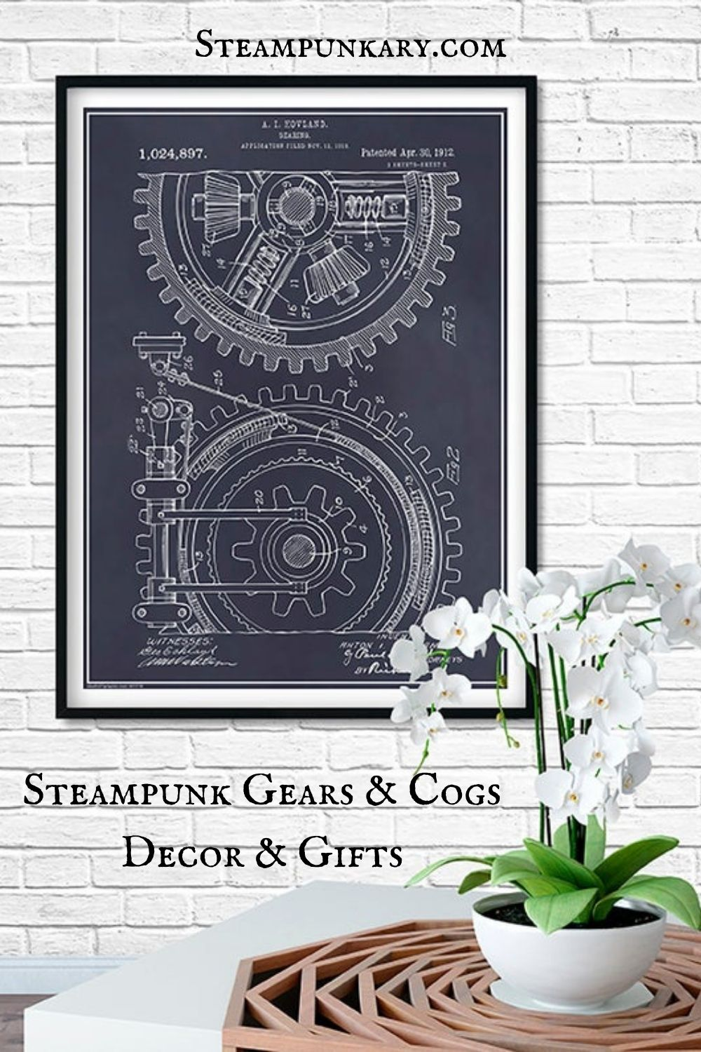Steampunk Gears and Cogs Decor and Gifts